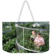 Effects Of Co2 On Soy Weekender Tote Bag