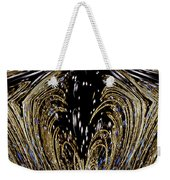 Effervescent Golden Arches Abstract Weekender Tote Bag by Carolyn Marshall
