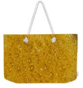 Square Format. Sunny Egg Bubbles  Weekender Tote Bag