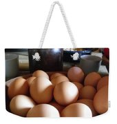Eggs On The Table Weekender Tote Bag