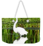 Egret 5 Weekender Tote Bag