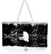 Egret In Flight V5 Weekender Tote Bag