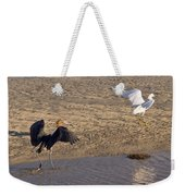 Egret Territory Weekender Tote Bag