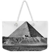 Egypt: Cheops Pyramid Weekender Tote Bag