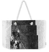 Egypt: Pyramid Interior Weekender Tote Bag