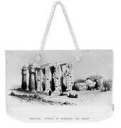Egypt: Ramesseum Weekender Tote Bag