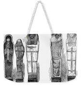 Egypt: Royal Mummies, 1882 Weekender Tote Bag by Granger