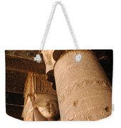 Egypt Temple Of Dendara Weekender Tote Bag