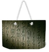 Egyptian Hieroglyphics Decorate Weekender Tote Bag
