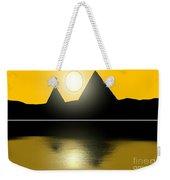 Egyptian Sunrise Weekender Tote Bag