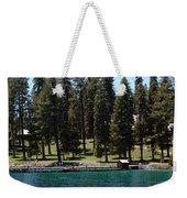 Ehrman Mansion Lake Tahoe Weekender Tote Bag