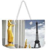 Eiffel Tower From Trocadero Weekender Tote Bag by Elena Elisseeva