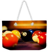 Eight Ball Weekender Tote Bag