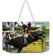 Rodeo Eight Seconds Weekender Tote Bag
