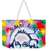 Einstein Imagination Weekender Tote Bag