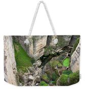 El Tayo River Gorge In Ronda Weekender Tote Bag