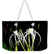 Elaines Flowers Weekender Tote Bag