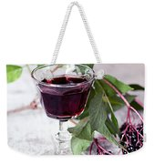 Elderberries 04 Weekender Tote Bag