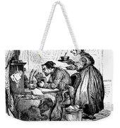Elderly Couple Weekender Tote Bag