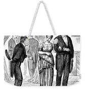 Election Cartoon, 1877 Weekender Tote Bag by Granger