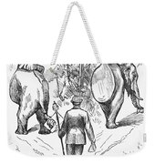 Election Cartoon, 1884 Weekender Tote Bag