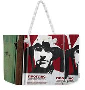 Elections 1974. Belgrade. Serbia Weekender Tote Bag