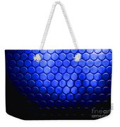 Electric Blue Circle Bumps Weekender Tote Bag