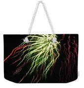 Electric Jellyfish Weekender Tote Bag