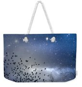 The Night Was Electrically Charged Weekender Tote Bag