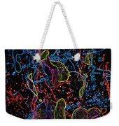 Electric Shy Girl Weekender Tote Bag