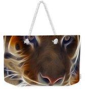 Electric Tiger Weekender Tote Bag