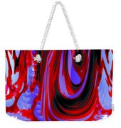 Electric Underground Weekender Tote Bag