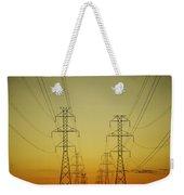 Electricity Pylons Weekender Tote Bag