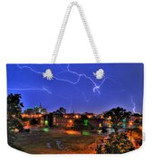 Electrifying Canvases Of Nature Weekender Tote Bag