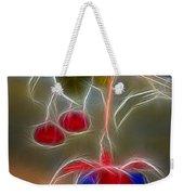 Electrifying Fuchsia Weekender Tote Bag