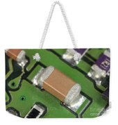 Electronics Board With Lead Solder Weekender Tote Bag