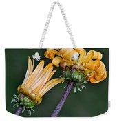 Elegant Daisies Weekender Tote Bag