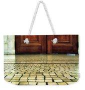 Elegant Door And Mosaic Floor Weekender Tote Bag