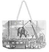 Elephant Hoist, 1858 Weekender Tote Bag