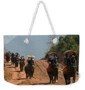 Elephant Rides Weekender Tote Bag