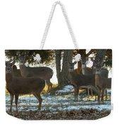 Eleven Deer Standing Weekender Tote Bag