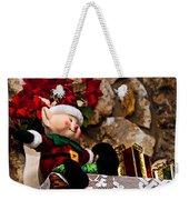 Elf On Shelf Weekender Tote Bag