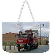 Elizabeth - Steam Bus At Whitby Weekender Tote Bag