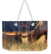 Elk 2 Elk Weekender Tote Bag