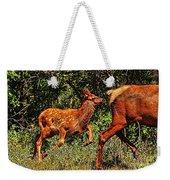 Elk Fawn Weekender Tote Bag