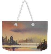 Elk Island Sundown 1 Weekender Tote Bag