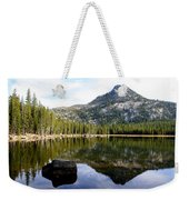Elkhorn Mountain Reflection Weekender Tote Bag
