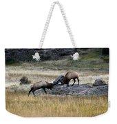 Elks Rutting Weekender Tote Bag