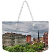 Ellicott Square Building     St. Joseph Cathedral     Prudential Guaranty Building Weekender Tote Bag