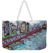 Ellis And Wall Street Weekender Tote Bag